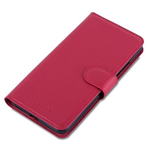 Amazon.com: Cadorabo – Estilo Libro Diseño para Huawei Y6 ...