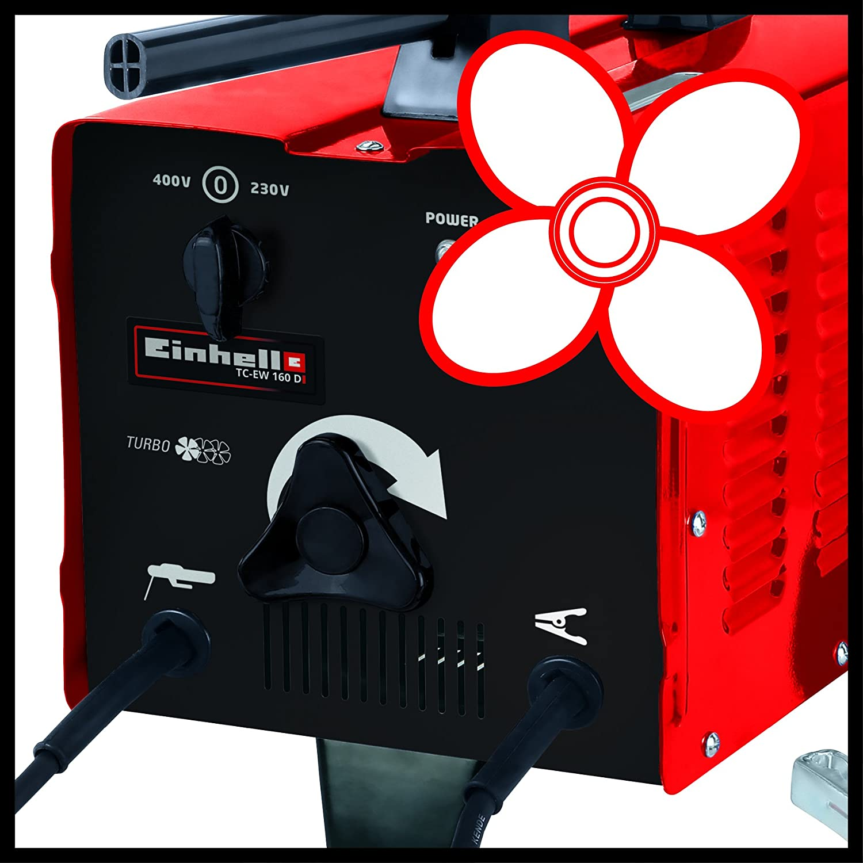 Einhell TC-EW 160 D - Soldador (230/400, 280 mm, 480 mm, 356 mm, 20,4 kg): Amazon.es: Bricolaje y herramientas