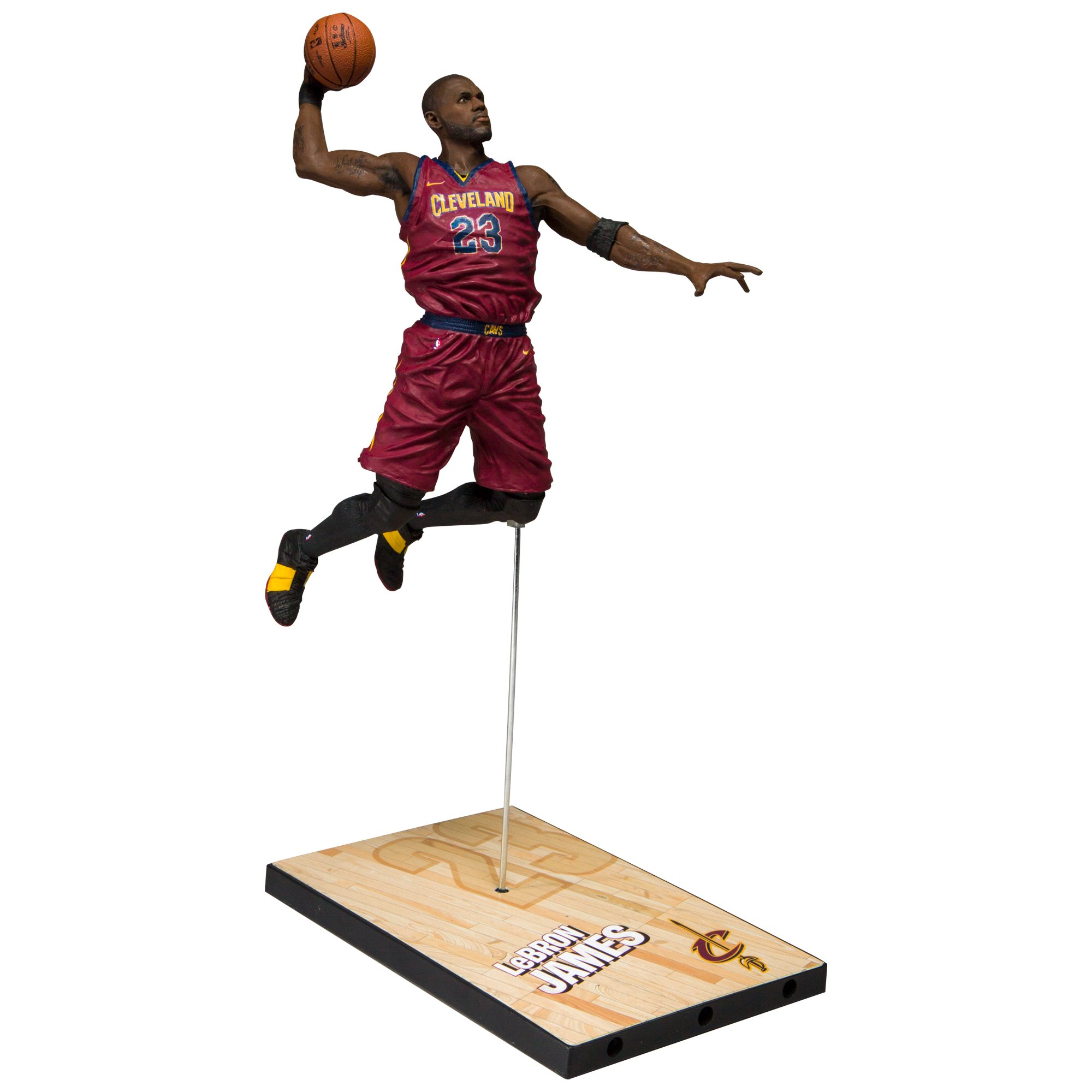 McFarlane Toys Nba Series 31 Lebron James Cleveland Cavaliers Action Figure by McFarlane