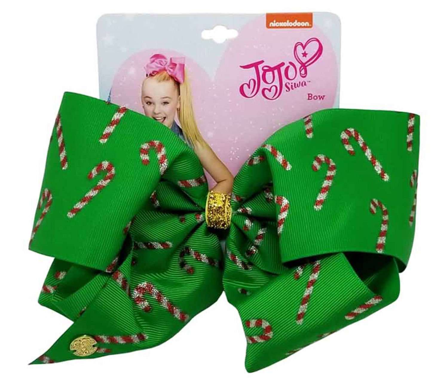 Amazon.com : Jojo Siwa Large Red and Green Ombre Christmas Bow : Beauty