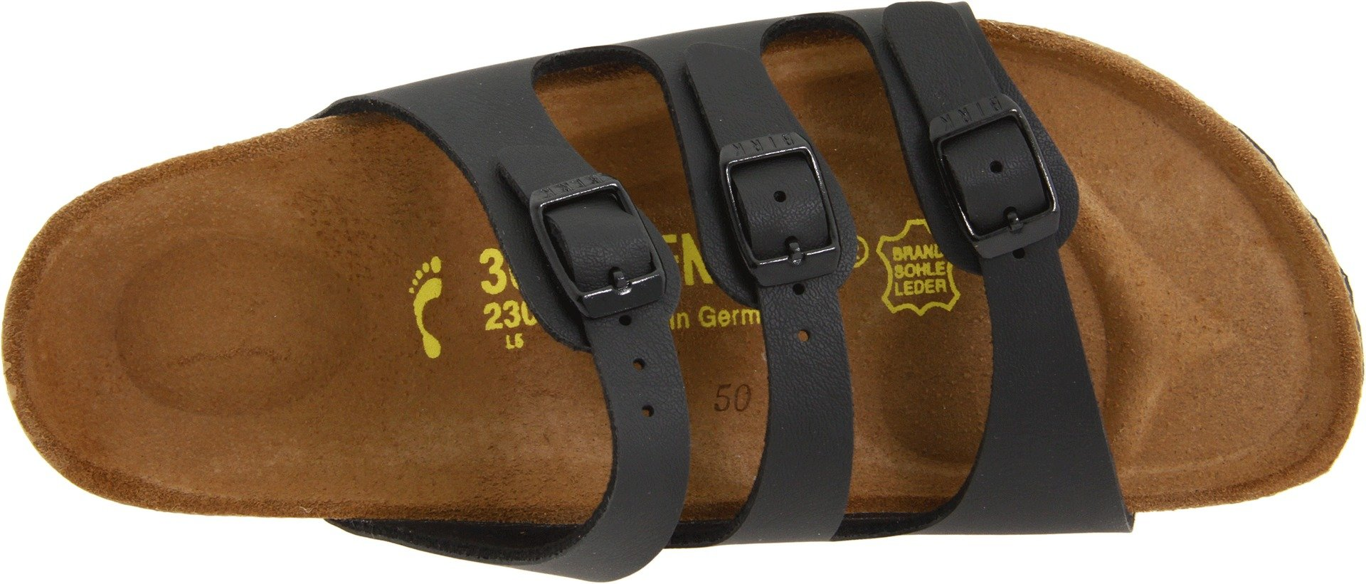 Birkenstock Women's Florida Sandals,Black,38 N EU / 7-7.5 AA(N) US by Birkenstock (Image #7)
