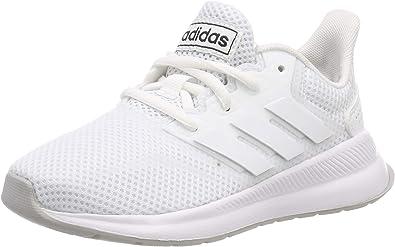 adidas Runfalcon K, Zapatillas de Running Unisex Niños, Blanco ...