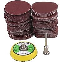 60-2000 Grit 2-Inch 50mm Sanding Discs de lija