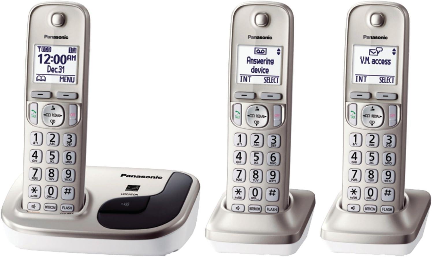 Panasonic Expandable Digital Cordless Phone con 1 Terminal: Amazon.es: Electrónica