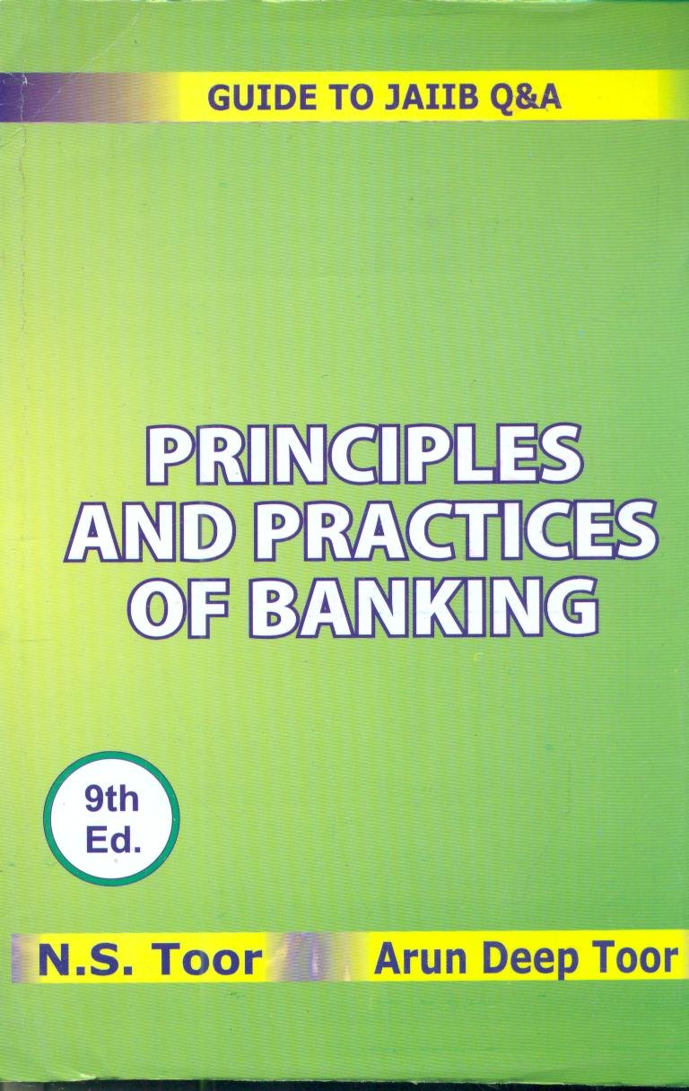 Workbooks jaiib workbook : Amazon.in: Buy PRINCIPLES AND PRACTICES OF BANKING Book Online at ...