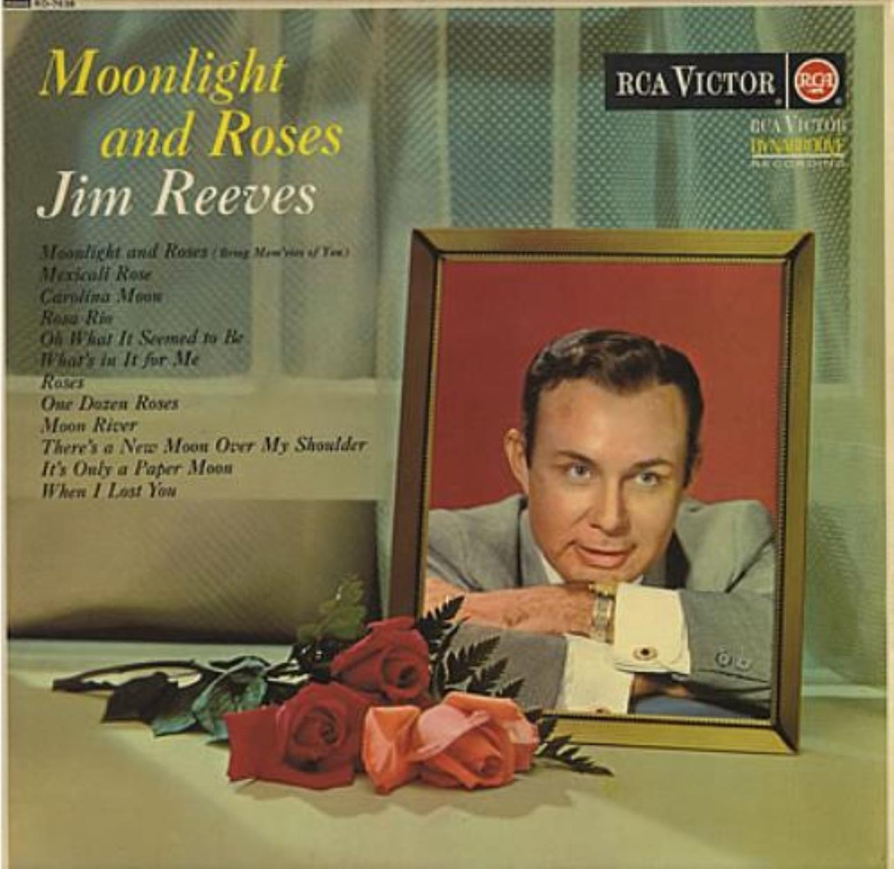 Jim Reeves - [ LP Vinyl] Moonlight And Roses: Jim Reeves - Amazon ...