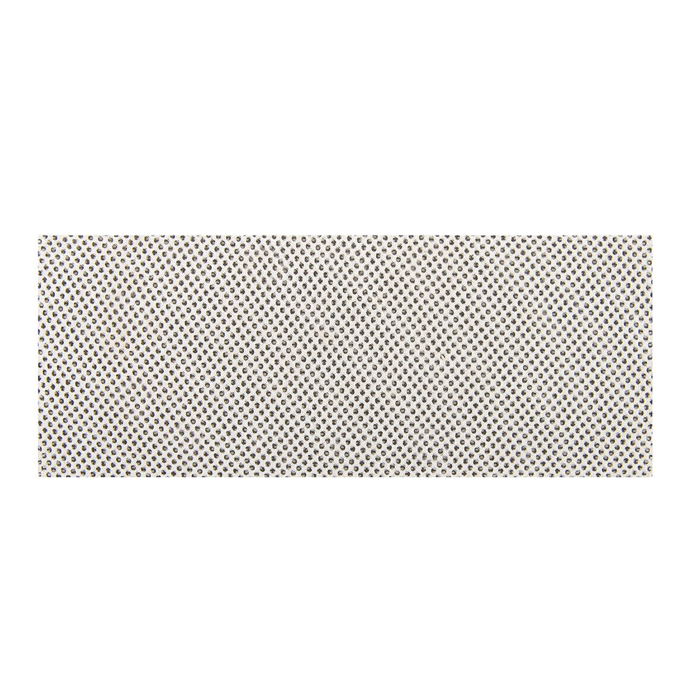 Silverline 283017 Lot de 10 feuilles abrasives treillis auto-agrippantes 115 x 230 mm grain 120