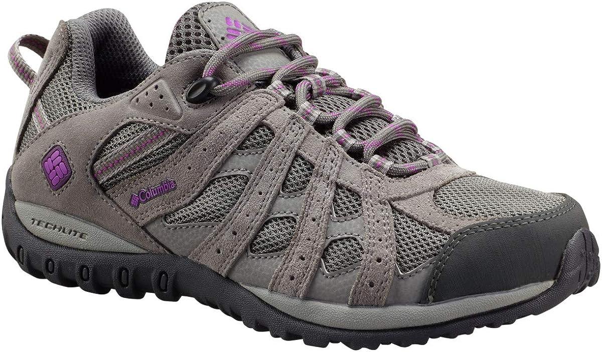 Columbia Women s Redmond Waterproof Low Hiking Shoe, Advanced Traction Technology