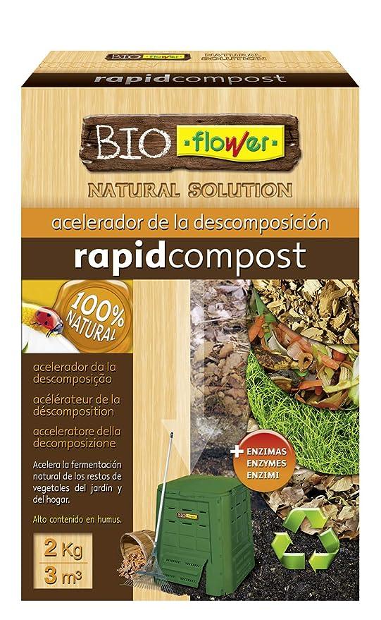 Flowe - Acelerador de la descomposición, Compost Orgánico, 2 kg ...