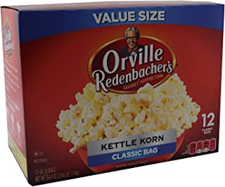 product image for Orville Redenbachers Kettle Korn Classic Bag, 12-Count Box