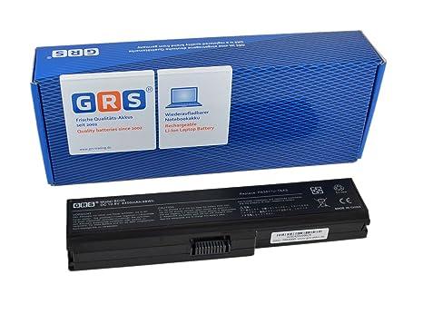 GRS Batería para Toshiba Satellite L750, Satellite L750D, sustituye a: PA3816U-1BRS, PA3817U-1BRS, PA3818U-1BRS, PA3819U-1BRS, PABAS227, PABAS228, ...