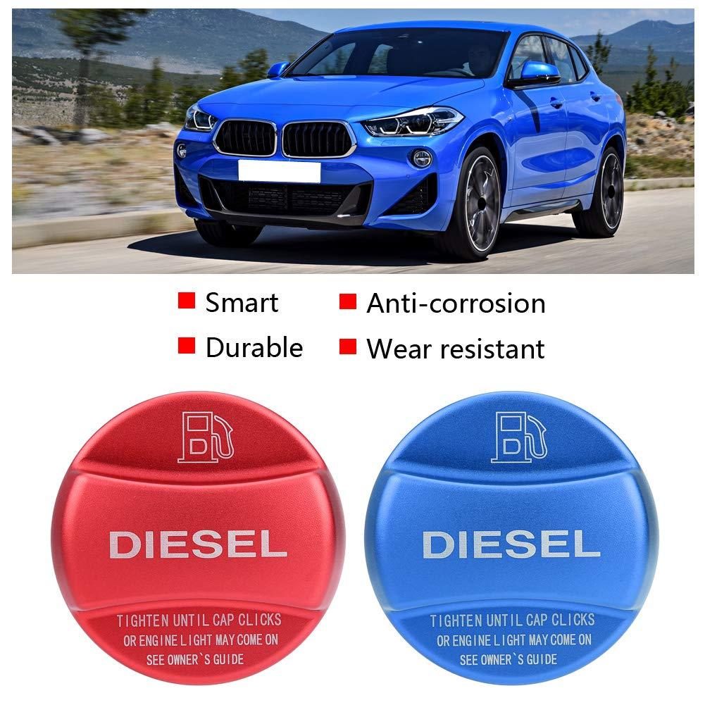 Tappo del serbatoio del carburante rivestimento del coperchio del coperchio del serbatoio del carburante per auto diesel universale Blu
