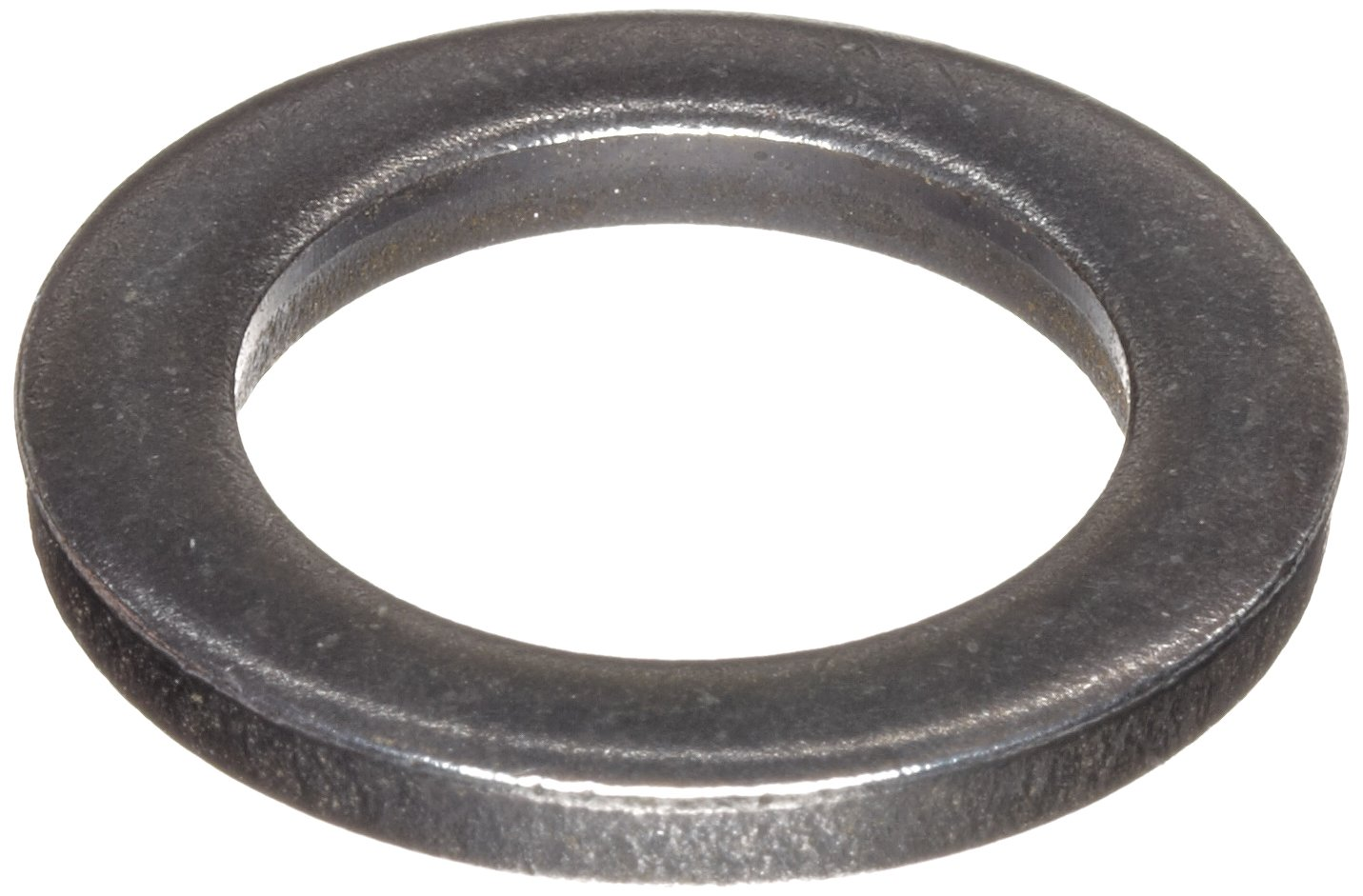 C1074/C1095 Spring Steel Round Shim, Unpolished (Mill) Finish, Spring Temper, ASTM A684, 0.1mm Thickness, 30mm ID, 42mm OD (Pack of 10) by Small Parts (Image #1)