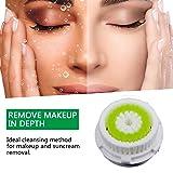 4 Counts Acne Treatment Skin Care Replacement Brush Head Acne Prone Black Heads and Oily Skin Smart Profile, Mia 1, Mia 2, Mia 3 (Aria), Plus, Pro, Alpha Fit