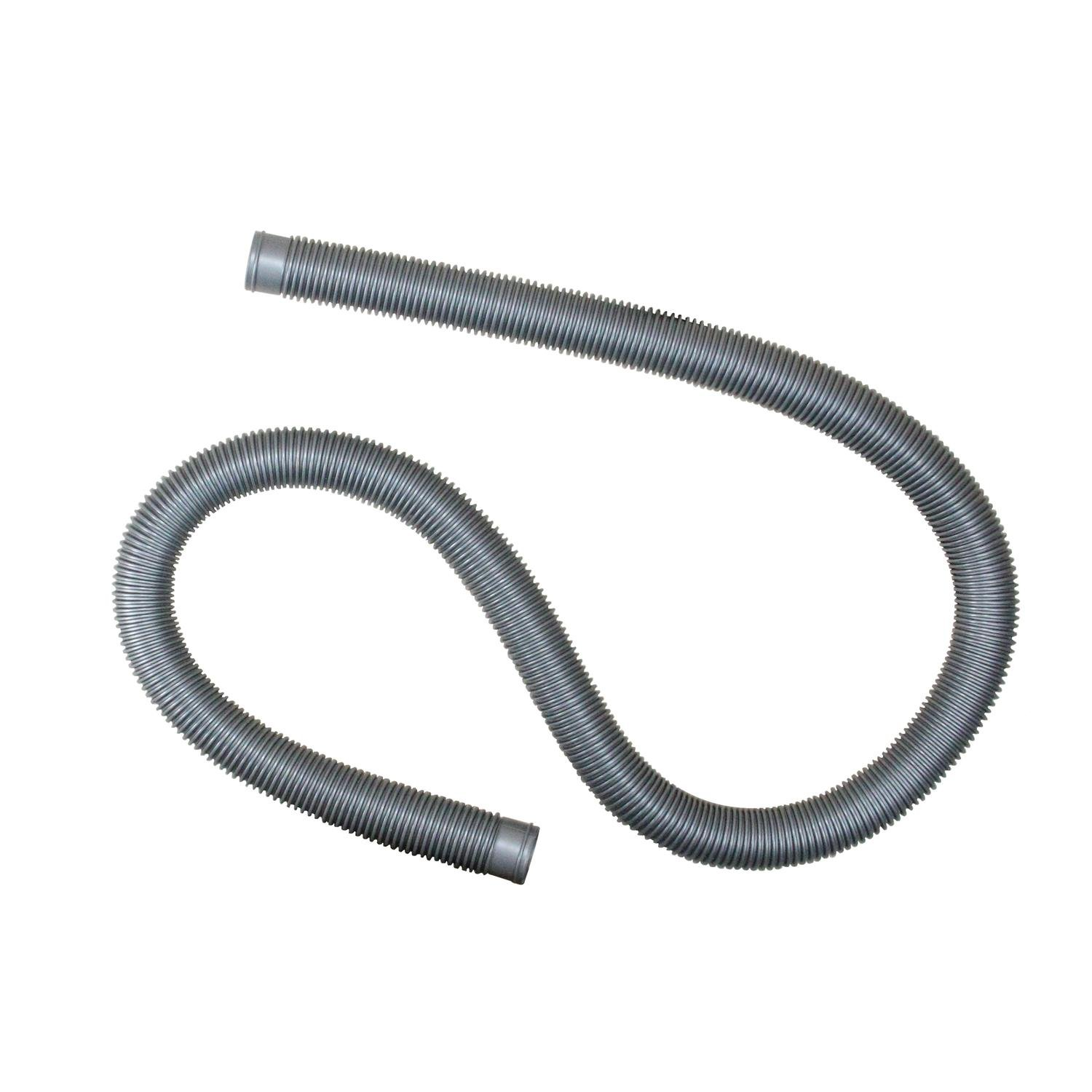 Pool Central 32756926 Heavy-Duty Pool Filter Connect Hose-6' x 1.5'' 6' x, Silver