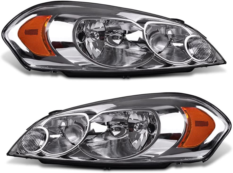 [DIAGRAM_38EU]  Amazon.com: AUTOSAVER88 Headlight Assembly Compatible with 2006-2013 Chevy  Impala 06 07 Chevy Monte Carlo Replacement Headlamp Driving Light Chrome  Housing Amber Reflector Clear Lens 25958359 25958360: Automotive | 2007 Impala Headlight Wiring Harness |  | Amazon.com