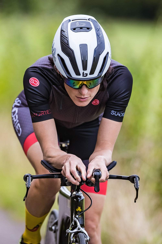 Sundried Manica Corta Womens Cycle Jersey Ciclismo su Strada e Mountain Bike Jersey