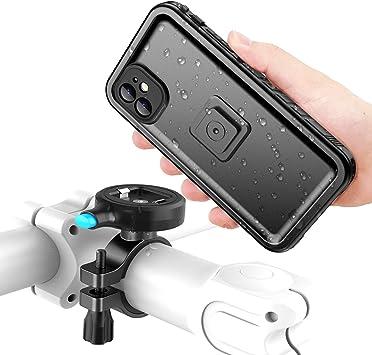 Cozycase Soporte Movil Bici para iPhone 11 con Funda estanca, Teléfono Aluminio Manillar de Bicicleta de Montaje: Amazon.es: Electrónica