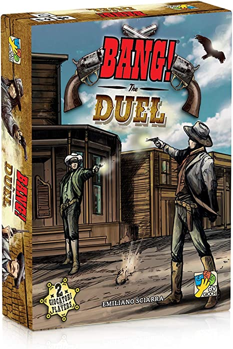 DV Juegos - Bang The Duel-Duelli de Cartas para Dos Jugadores, edición Italiana DVG9110: Amazon.es: Juguetes y juegos