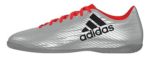 new concept 9bbb2 7895d adidas X 16.4 IN, Botas de fútbol para Hombre, Plata (PlametNegbas