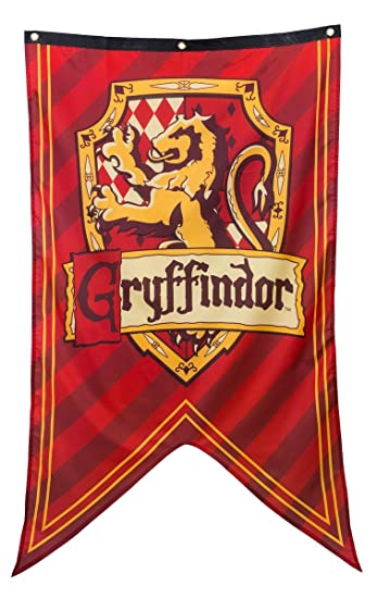 Harry Potter House Crest Wall Banner (Gryffindor)