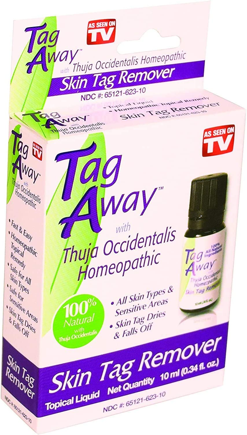 Tag Away Skin Tag Remover   Fast Acting Homeopath Topical Remedy   for All Skin Types: Health & Personal Care
