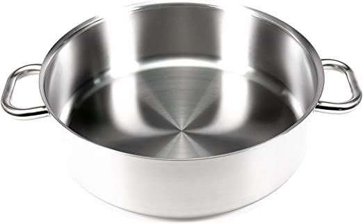 9 1//2-Inch Gray Matfer Bourgeat Excellence Saute Pan without Lid