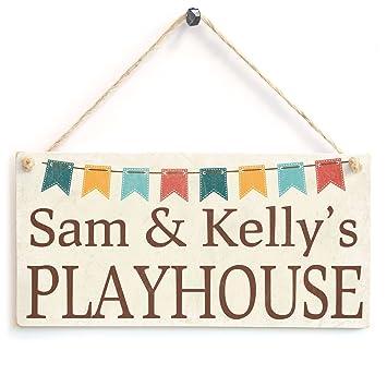 Amazon.com: Personalizado Playhouse – Super Cute Cartel de ...