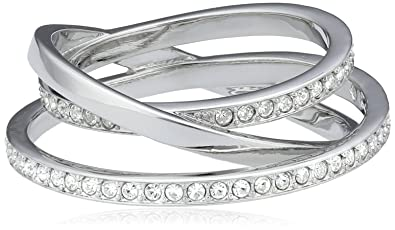df9204f0ed376 Amazon.com: Swarovski Spiral Ring size 52 5095308: Jewelry