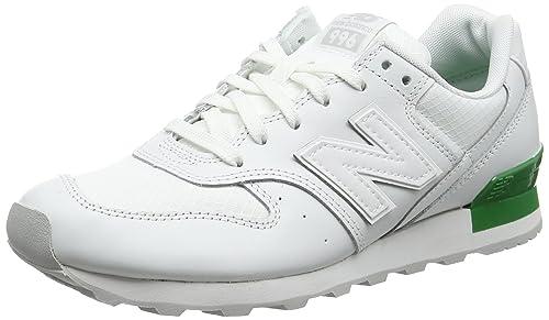New Balance Wr996 Sneaker Donna Bianco White 40.5 EU u7N