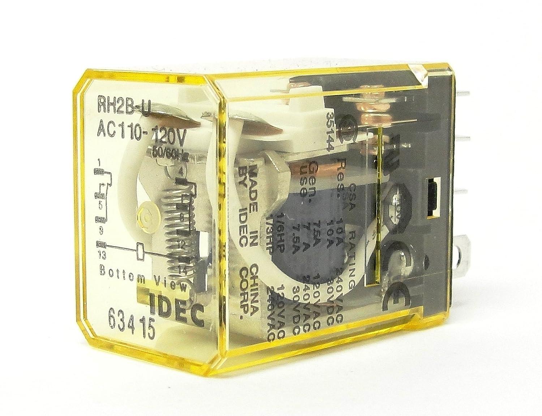 IDEC RH3B-D Relay 24 VDC