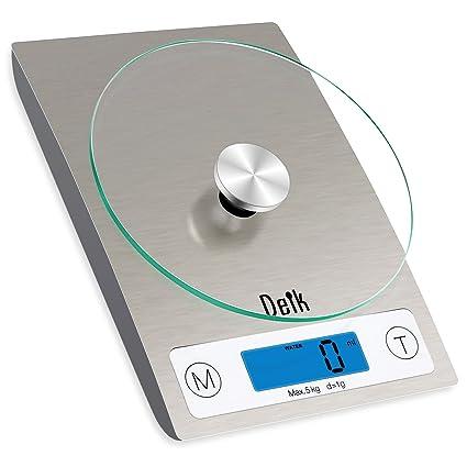 Deik KDS02 digital de cocina y escala del alimento (5 kg/11 libras)