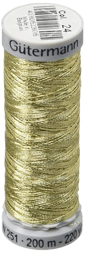Amazon Gutermann Dekor Metallic Polyester Embroidery Thread