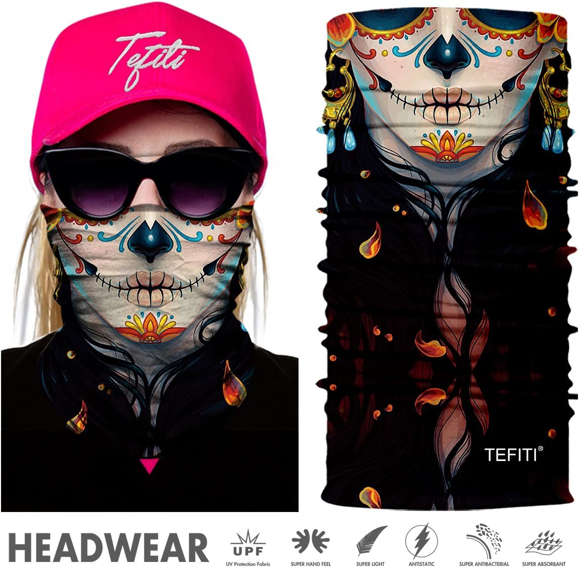 Scaldacollo,Copricapo Multifunzione Italia Italy Italian Flag Neck Warmer Gaiter Fleece Ski Face Mask Cover for Winter
