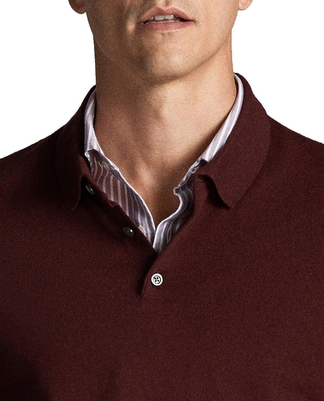 MASSIMO DUTTI 0933/308/555 - Jersey para Hombre (algodón y Seda ...