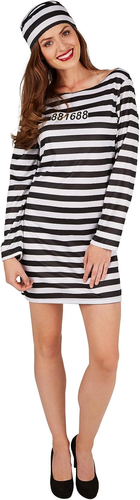 TecTake dressforfun Disfraz para Mujer de Presa | Vestido Corto ...