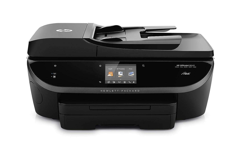 amazoncom hp officejet allinone wireless printer with mobile printing u0026 neat organizer instant ink ready f5a16a electronics