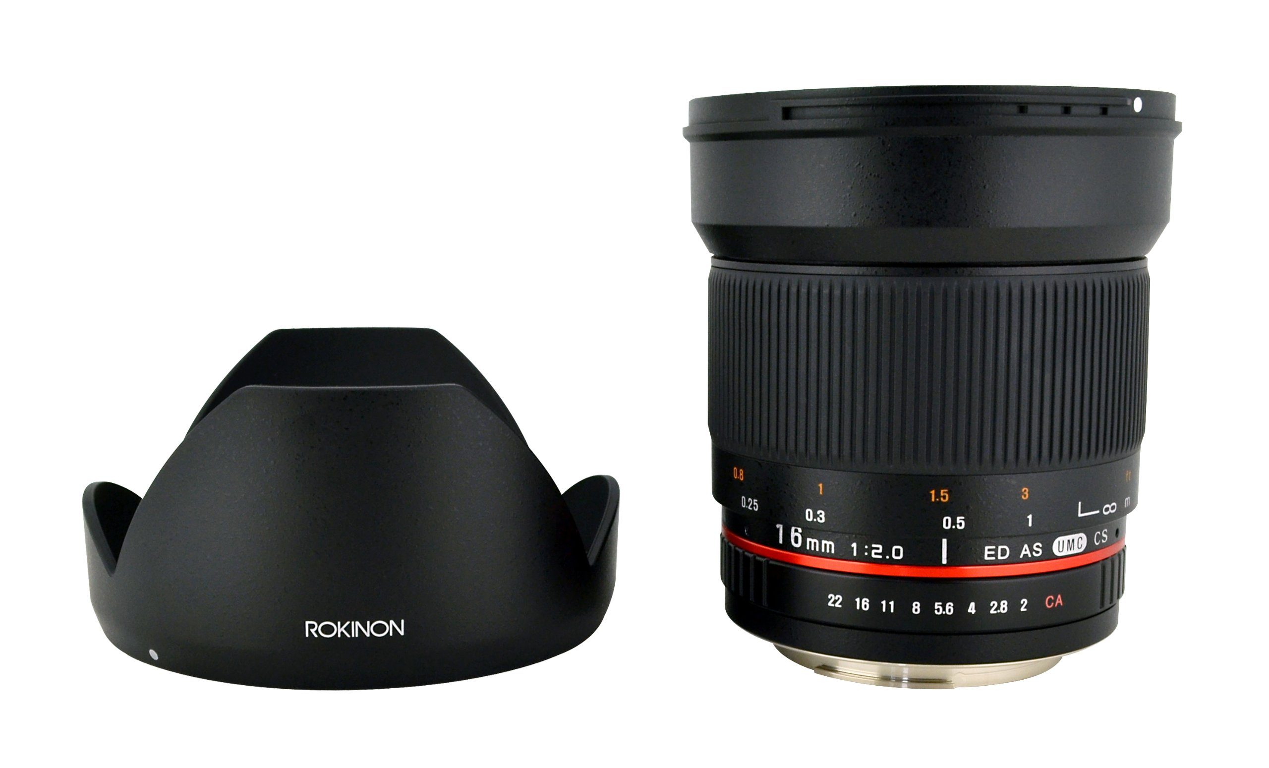 Rokinon Olympus Panasonic Mft Micro 4 3 Samyang For Canon 8mm F 35 Aspherical If Mc Fisheye Cs Ii Dh Detachable Hood
