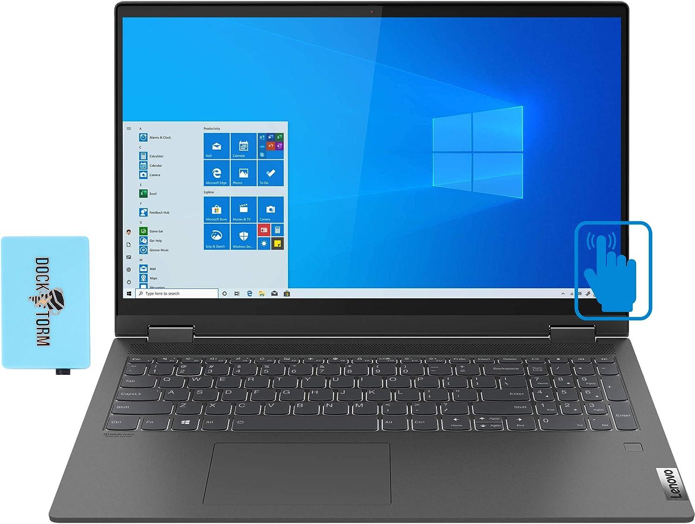 Lenovo IdeaPad Flex 5 15IIL05 Home and Business Laptop (Intel i7-1065G7