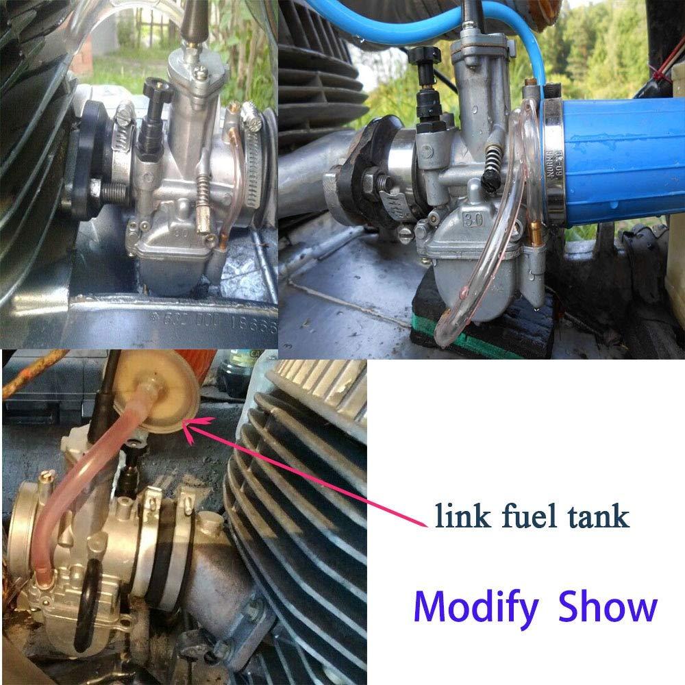 Carburador   Sclmotos   21 24 26 28 30 32 34 mm para Keihii ...
