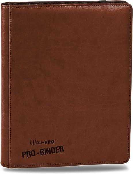 9-Pocket Premium PRO-Binder Brown