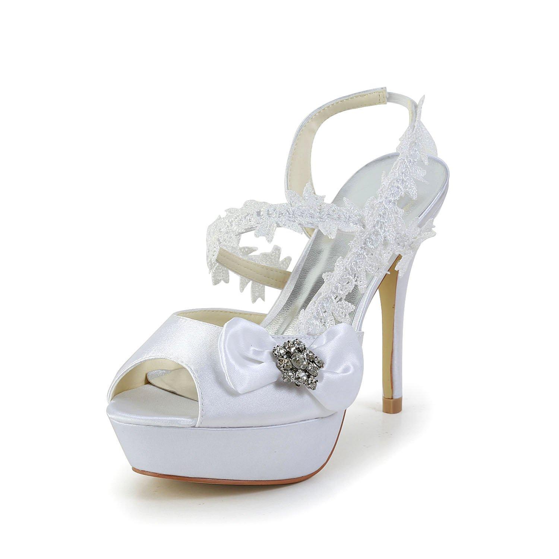 Jia Jia Wedding Wedding 1293 chaussures de mariée Escarpins mariage Escarpins Jia pour femme Blanc 8f547b0 - latesttechnology.space