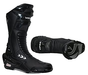 Black Viper 966S Mens Motorcycle Boots 41//7