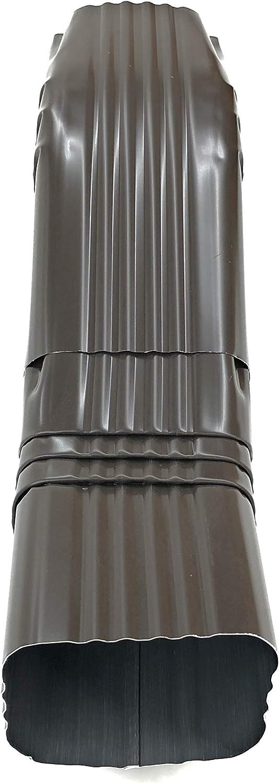 Amerimax A Elbow 75 Degree 3  X 4  Aluminum Brown