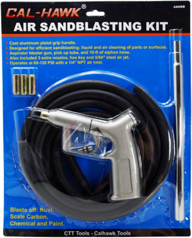 Cal Hawk Tools CAHSB Air Sandblasting Kit