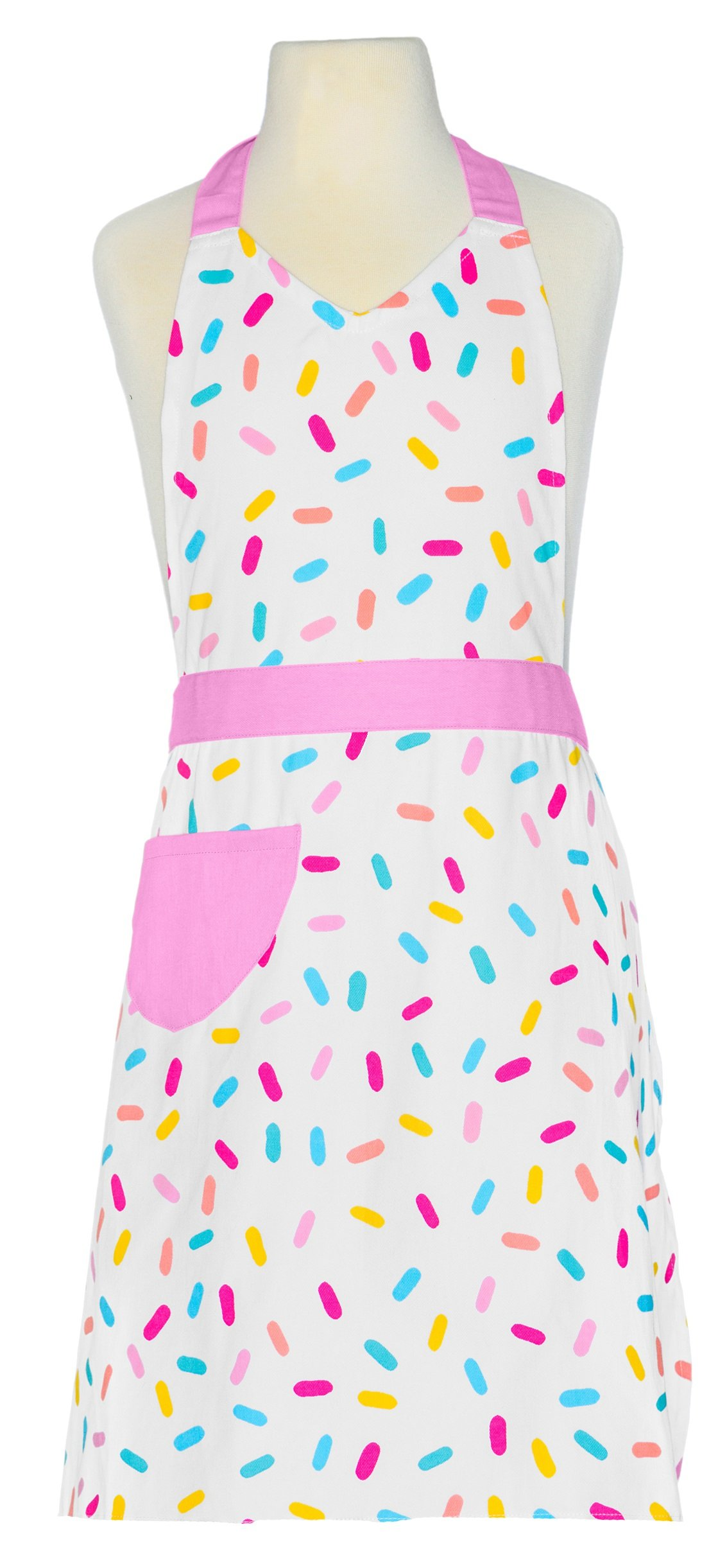 Handstand Kitchen Mother and Daughter Sprinkles 100% Cotton Apron Gift Set by Handstand Kitchen (Image #3)