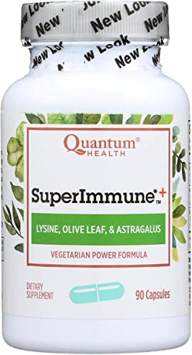 Super Immune Plus Lysine – 90 vegicaps, Quantum Health