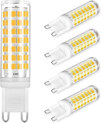 Gu 10 Leds 3 5w 10 Pieces G9 Led 6w 3000k Amazon Co Uk Lighting