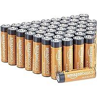 Amazon Basics - Pilas alcalinas AA de 1,5 voltios, gama Performance, paquete de 48 (el aspecto puede variar)