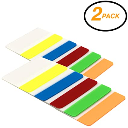 Business card bottom self-ashesive tabs for filing
